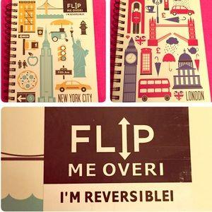 🆕 ONLY 1! Markings Reversible Travel Journal